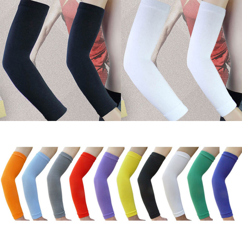 Mayitr 1pc 10 Colors Professional Elastic Elbow Support High Quality Long Arm Elbow Brace Band Gym Protector Sleeve
