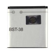 Original BST-38 Battery For Sony Ericsson W980 Z770i C510 C902 C905 K770 930mAh аккумулятор для телефона ibatt bst 43 для sony ericsson j10i2 hazel j20i elm j10i txt pro ck15i cedar j108 mix walkman wt13i txt ck13i yari u100i hazel