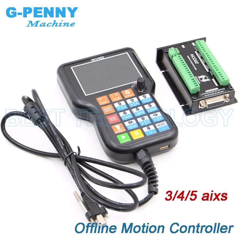 Offline motion controller Unabhängige controller 3 achse/4 achsen/5 achse ersetzen Mach3 controller Stepper motor controller