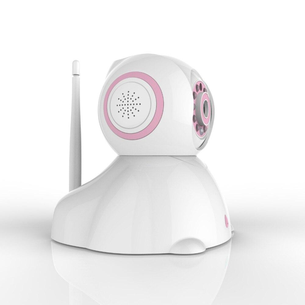 C42 2017 haut à la mode rose bleu bébé moniteur téléphone exploité Mini chambre sans fil tous les Types belle caméra support détection de mouvement - 3