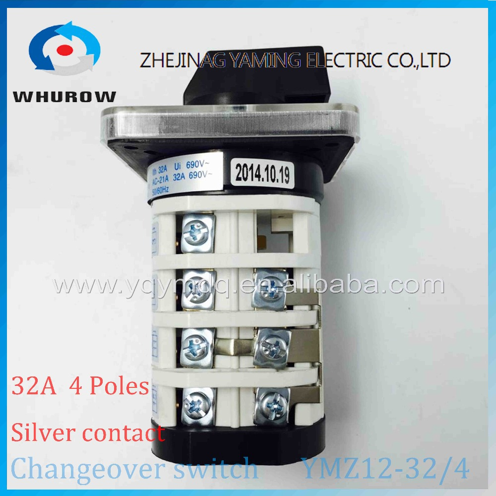 Rotary Switch Knob 3 Position 1 0 2 Ymz12 32 4 Universal Manual Pole Wiring Diagram Electrical Changeover Cam 32a 690v Phases High Quality In Switches From Lights
