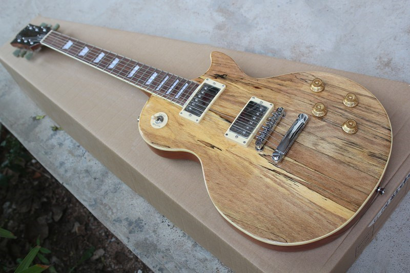 Accept Custom Any Wood Any Style Electr Electric Guitar Guitarra 6 String Picea Built-in Tuner LP DIY WoodAccept Custom Any Wood Any Style Electr Electric Guitar Guitarra 6 String Picea Built-in Tuner LP DIY Wood