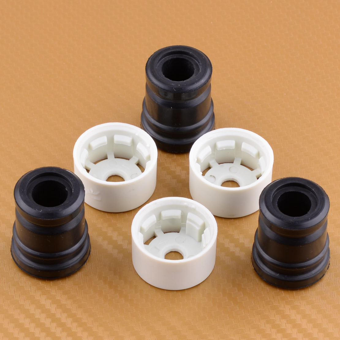 LETAOSK New 3 Pair Annular Buffer Mount Set Fit For STIHL 029 039 MS210 021 MS250 025 MS230 Chainsaw