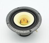 pair Melo david davidlouis audio HiEND 4 inch NEO full range fullrange speaker (gold bullet edition)