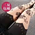 Princess sweet lolita Japanese  rose tattoo panty stockings sexy Rose Lace bk04