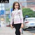 LouisDog вязать алмазов свитер топ подросток дети опрятный стиль теплый хлопок knittig свитера размер 6-16yrs