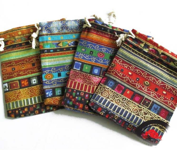 Handmade 9x12cm Egypt And India Mysterious Style Colorful Tassel