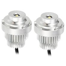 2PCS עיני מלאך LED מרקר אורות 80W אין שגיאה עבור BMW 5 סדרת E60 E61 LCI LED halo טבעת אור הנורה ערכות פנס רכב סטיילינג