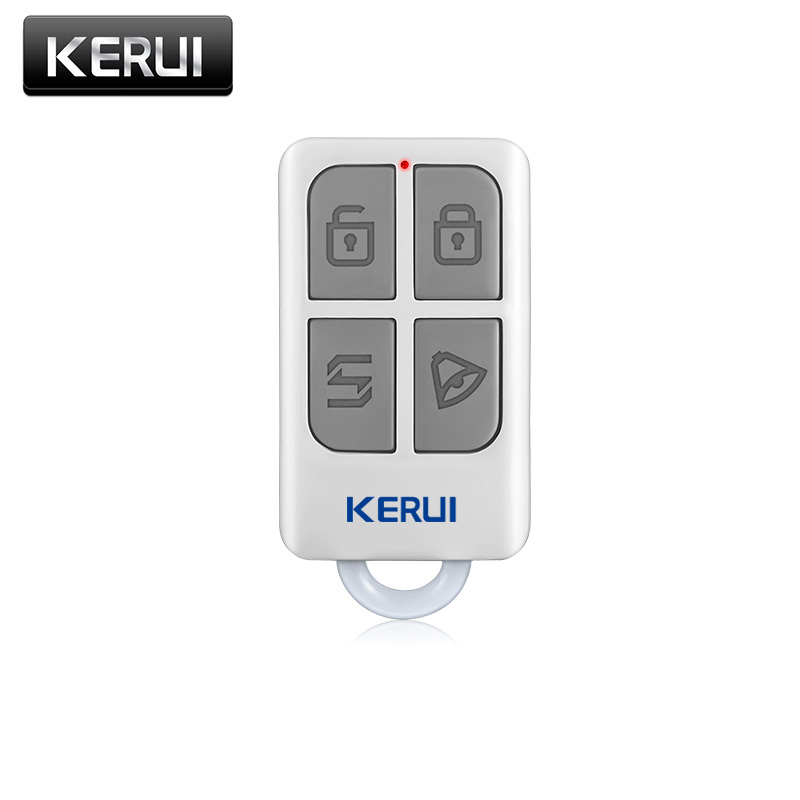 все цены на New Kerui Wireless Portable Remote Control For GSM PSTN Home Alarm System KR8218G Home Security Voice Burglar Smart Alarm System онлайн
