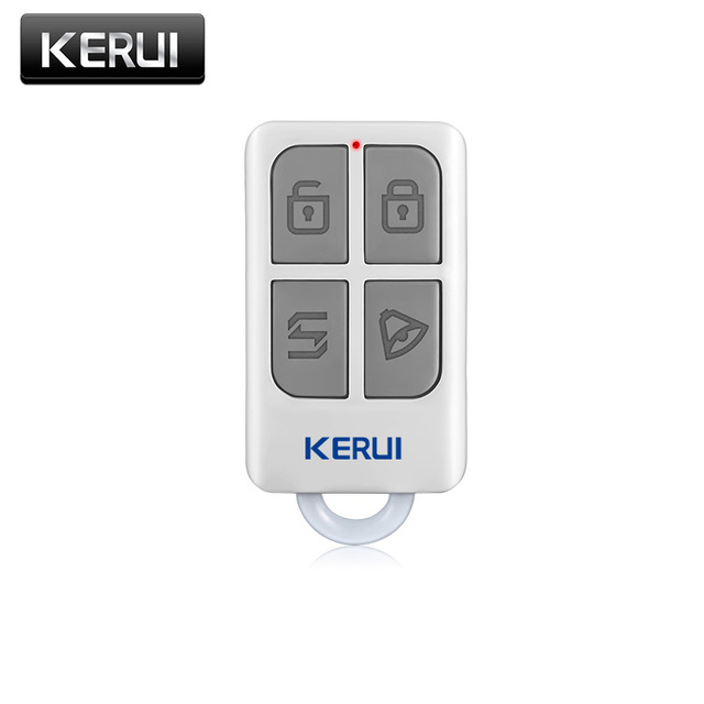 Superbe New Kerui Wireless Portable Remote Control For GSM PSTN Home Alarm System  KR8218G Home Security Voice
