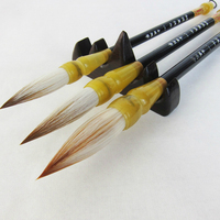 Multiple Hair writing Brush Pen Set Chinese Calligraphy Large Size Brush Pen for Painting Landscape Art Weasel Woolen Hair brush