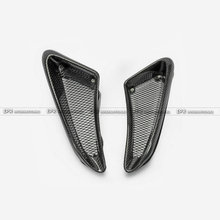 Car-styling For 06-12 Cayman Boxster S Carbon Fiber EP Style Side Vent Type 2(with bigger air duct) Glossy Fibre Racing Body Kit цена