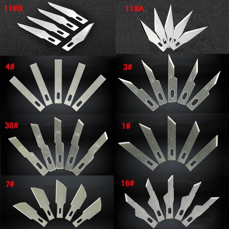 coltello a lama fissa strumenti per intaglio del legno per intaglio del legno set mini intaglio Lame di coltello per la lavorazione del legno PCB Riparazione Sticker artigianato