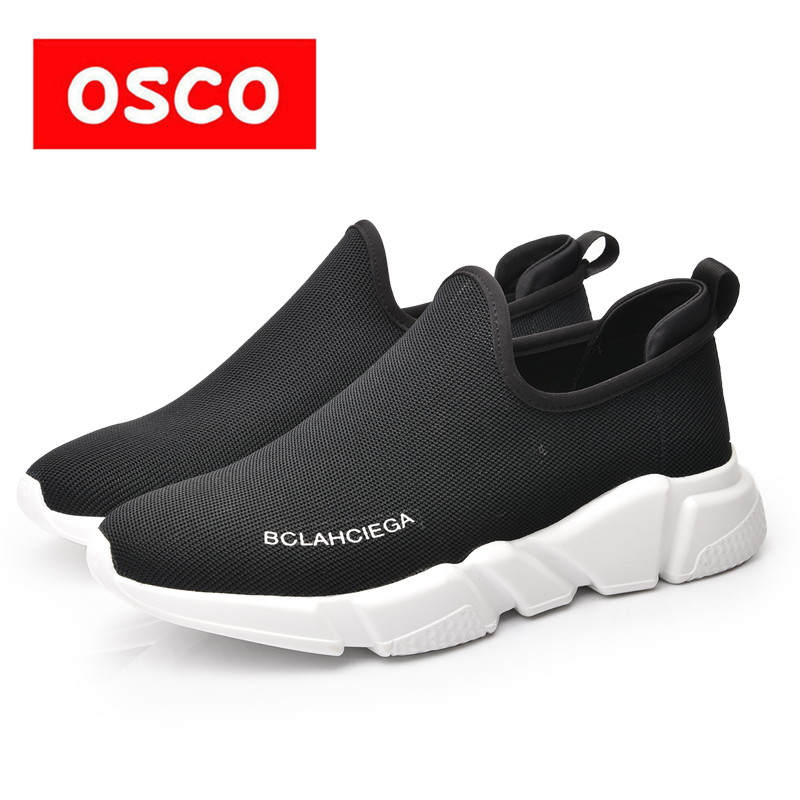 OSCO Brand Fashion Lace-up Casual Flats Shoes Men Comfortable Classical Dress Driving Shoes Plus Size 40-45 Black#RU181202 ...