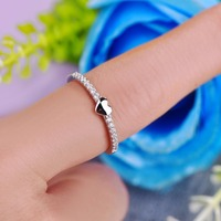 YL 925 Sterling Silver Rings For Women Love Female Engagement Fashion Rings For Women 2017 Fine