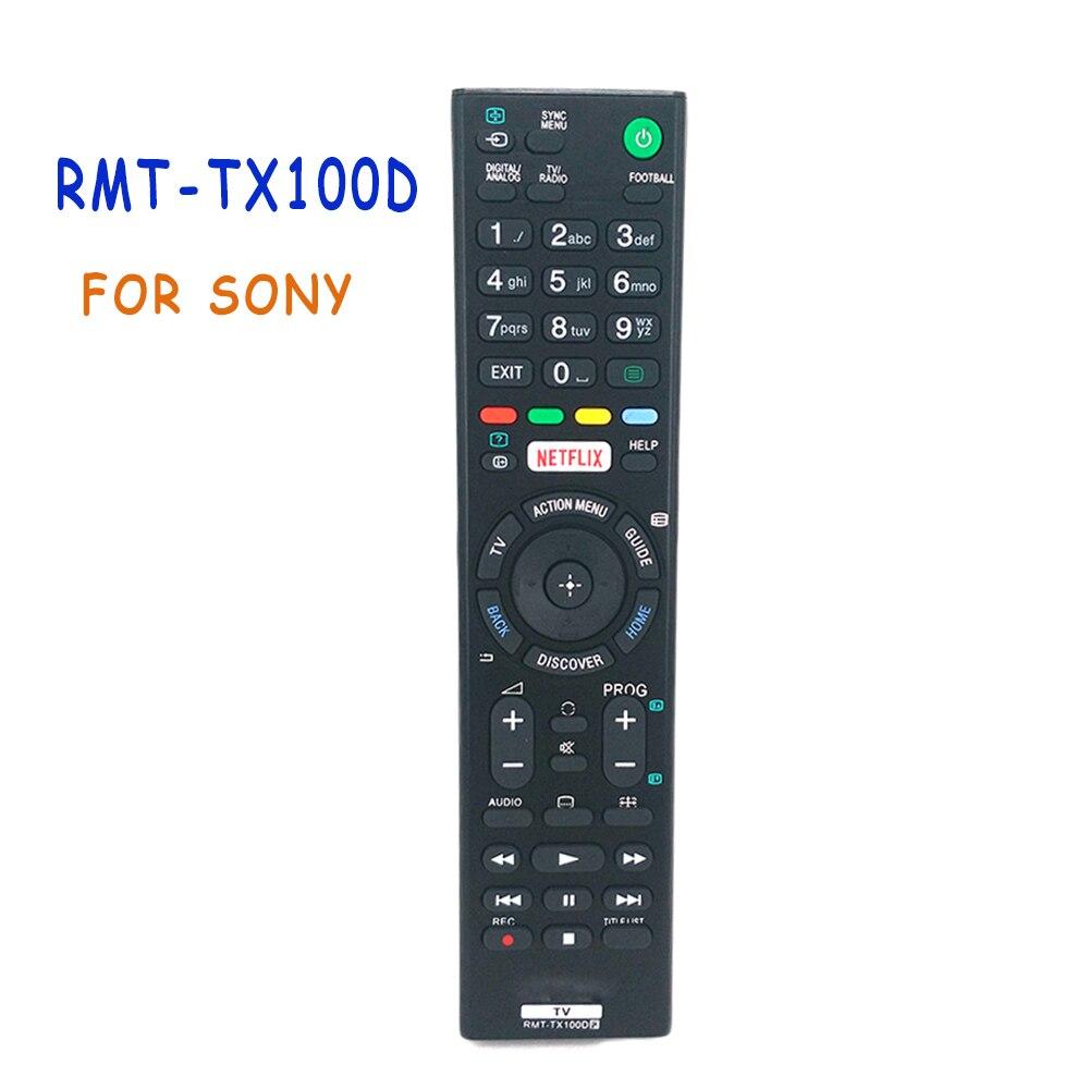 Control remoto para Sony RMT-TX100D NETFLIX televisores Bravia RMTTX100D KD-43X8301C RMT-TX101J RMT-TX102U RMT-TX102D Fernbedienung