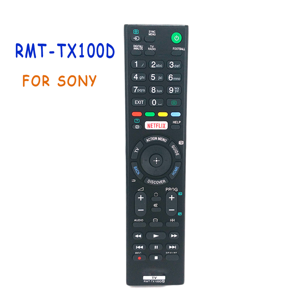 Remote Control For Sony RMT-TX100D NETFLIX Bravia TV RMTTX100D KD-43X8301C RMT-TX101J RMT-TX102U RMT-TX102D Fernbedienung