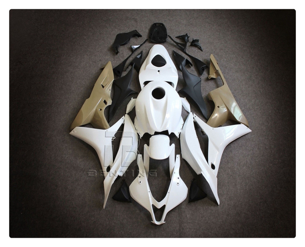 Motorcycle Unpainted Injection Fairing Body Parts KIT For HONDA CBR600RR CBR 600RR CBR600 RR F5 2007-2008  ABS Plastic +3 Gift