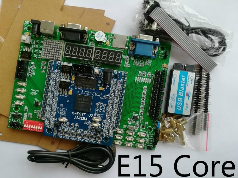 цена на E15 fpga development board bottom altera EP4CE15F17C8N board SOPC board fpga board altera board EDA