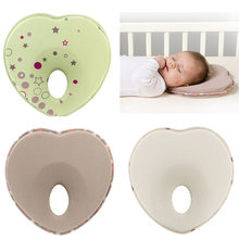 Infant head support kids shaped rest sleep positioner anti roll cushion nursing baby pillow to prevent flat YYT344(China)