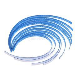 10 peças de Fita de Borda de Tênis de Mesa Tênis De Mesa Raquete Paddle Bat Esponja Lado Protetor de Fita Azul