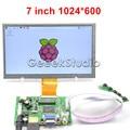 Raspberry Pi 7 дюймов ЖК-Дисплей 1024*600 TFT Экран Монитора с Приводом Борту HDMI VGA 2AV для Raspberry Pi 3/2 Модель B/B +