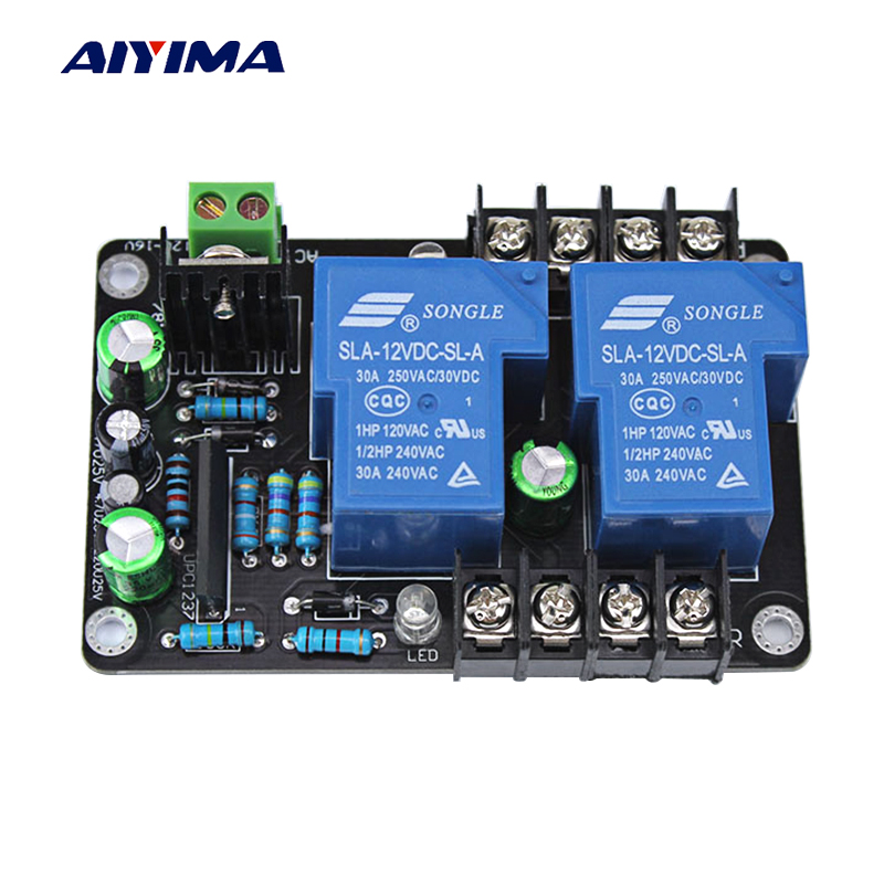 Ayima UPC1237 2.0 High Power Speaker Protection Board Kit Parts Reliable Performance 2 channels For DIY HIFI Amplifier