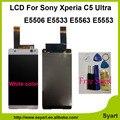 """OEM lcd de Qualidade AAA 1920x1080 LCD Montagem Digitador Da Tela de Toque 6.0 """"exibição para sony xperia c5 ultra e5506 e5533 e5563 e5553"""