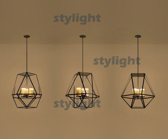 GEM Modern Pendant lamp Diameter 56cm  Innovative candle and metal light fixture LED candle chandelier Lighting modern pendant lamp led candle chandelier kevin reilly hemel math ring lighting innovative small and large size milk white glass