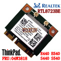 Realtek rtl8723be para lenovo thinkpad e440 e540 s440 s540 especial placa wireless fru: 04w3818 módulo wifi 300 mbps pci-e