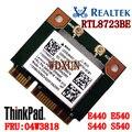 Realtek rtl8723be para lenovo thinkpad e440 e540 s440 s540 especial tarjeta inalámbrica fru: módulo wifi 300 mbps 04w3818 pci-e