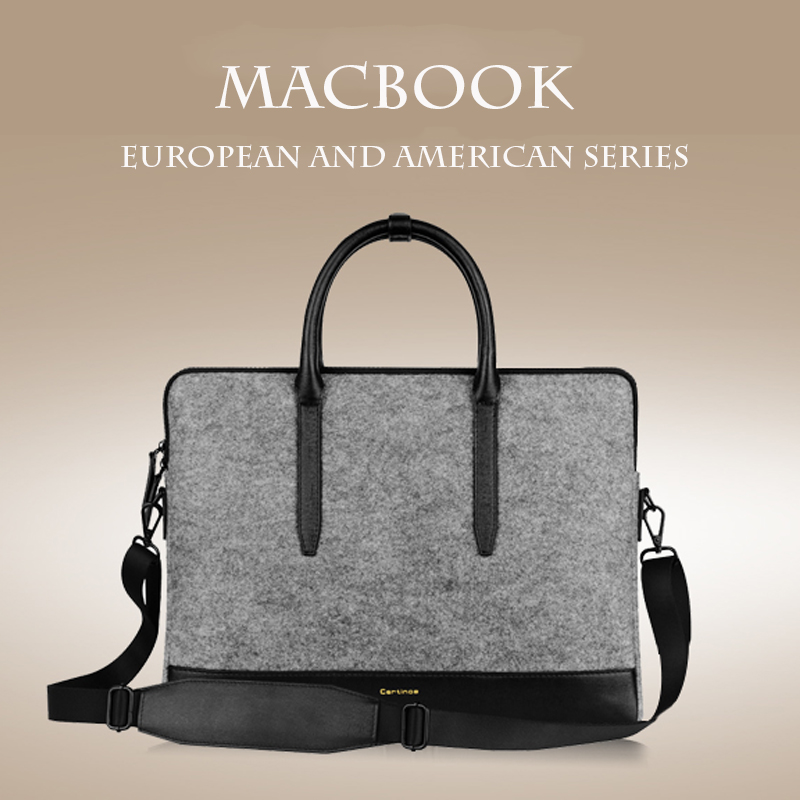 For Mac 11 Air Bag Universal Laptop Ultrabook Notebook Shoulder Bag Case For MacBook Air 11 Pro 13 / 15 inch Retina Lenovo Women