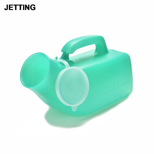 Portable Washable Unisex Urinary Bottle Disability Old Man Helper Mobile Toilet Car Travel Camp Urine Pee Handle Urinal Storage