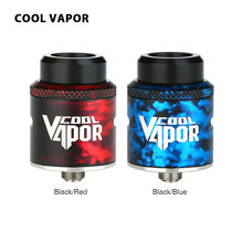 Original Cool Vapor MGTK BF RDA Tank 24mm RDA Rebuildable Drip Atomizer with Wide Build Deck Vape Tank Vs Drop Dead/Dead Rabbit