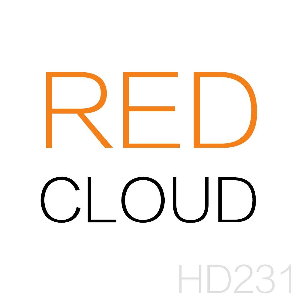 HDARTISAN aceite pintura pared Lona de Arte Abstracto rojo nubes colorido decoración para el hogar para sala de Decoración de casa sin marco
