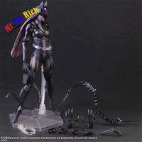 Playarts Kai Catwoman Selina Kyle Batman Figurine Brinquedos Pvc Action Figure Collectible Model Doll Kids Toys 25cm