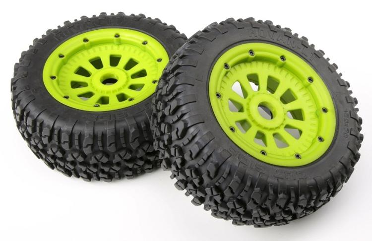 Nylon Wheel Tyres With Nylon Hubs Assembly For Scale 1/5 Losi 5ive Rovan LT RC Car Baja Spare Parts 2pc 2017 new rovan 1 5 scale gasoline rc car baja 5b high strength nylon frame 29cc engine warbro668 symmetrical steering