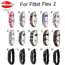 цена на 2018 Soft Silicone Adjustable Watchband Wristband Watch Wrist Band Strap Belt Replacement for Fitbit Flex 2 Flex2 Accessory New