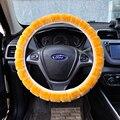 Cubierta del volante para el coche artificial de piel polo rio X1 vitara megan Tiida 2 passat Mini nota casi gratis productos calientes en venta