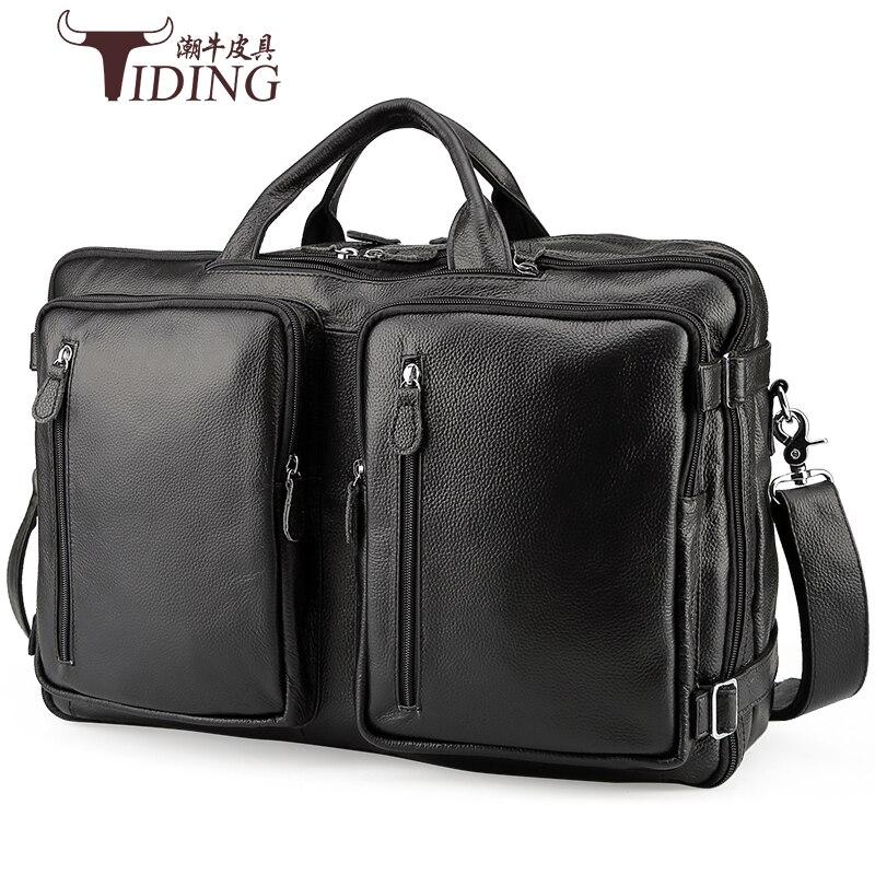 Neweekend сумка из натуральной кожи для мужской из натуральной кожи через плечо сумка для ноутбука Большая вместительная сумка тоут для путешес... - 2