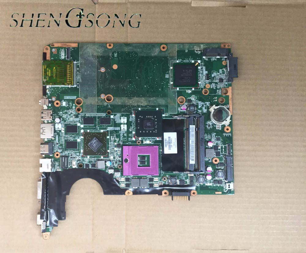 Free shipping Laptop motherboard for HP DV7  DV7-2000 LAPTOP P/N: 516293-001, tested 100% working