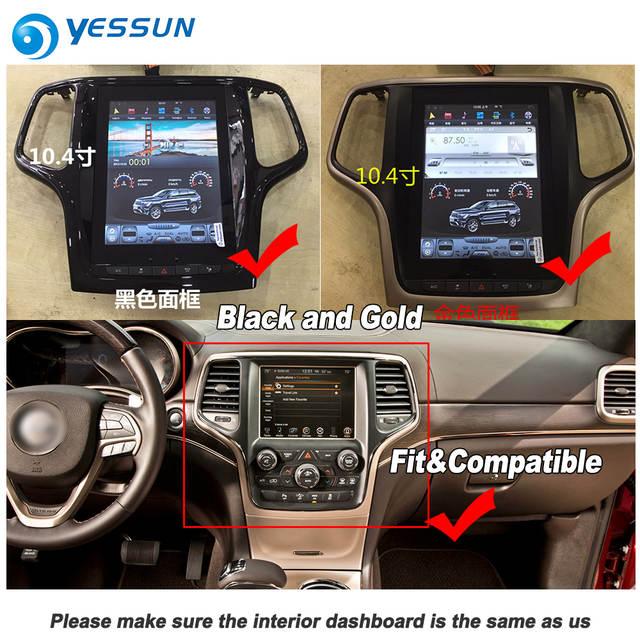 Yessun 10 4 Hd Super Screen For Jeep Grand Cherokee Wk2 2014 2019