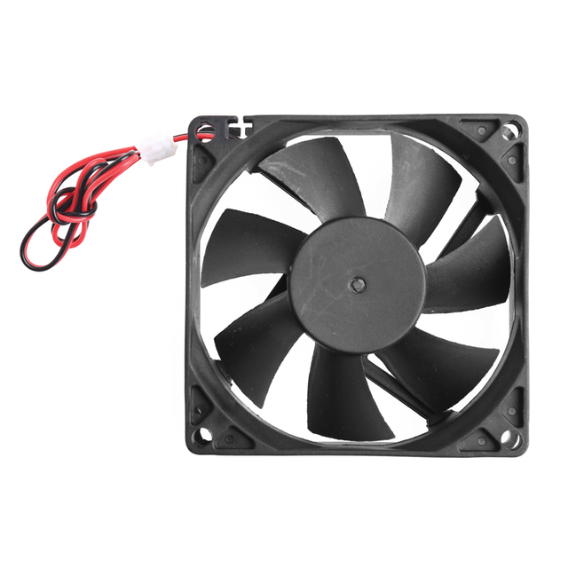 80 x 80 x 25mm 12V 2-pin Brushless Cooling fan for Computer 2