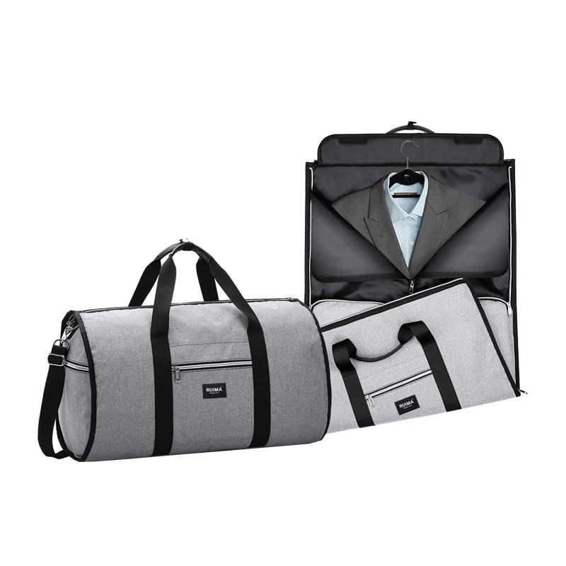 Waterproof Travel Bag Mens Business Garment Suit Bags Women Travel Shoulder Organizer Large Luggage Duffel Carry On Tote Handbag