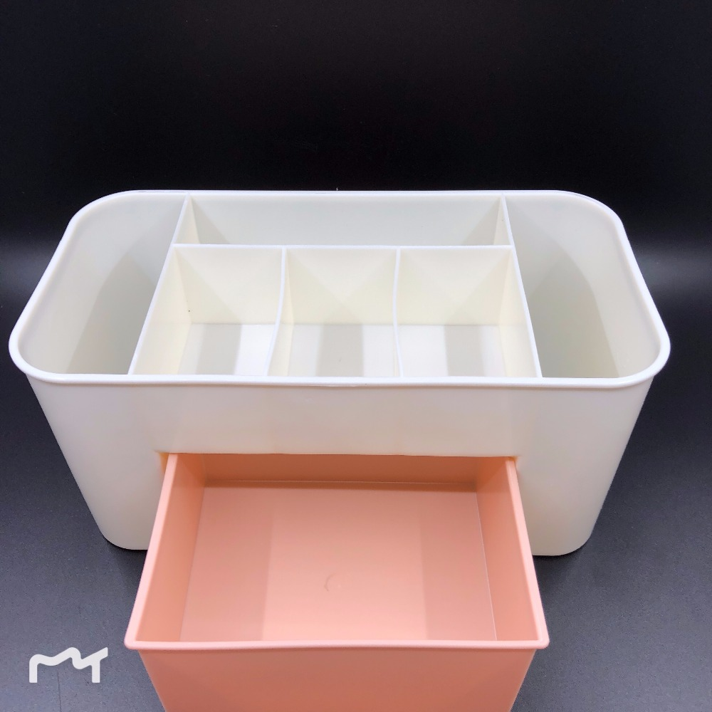 Makeup Cosmetic Holder Perfume Jewellery Case Storage Organizer Box Drawer Cosmetic Organizer