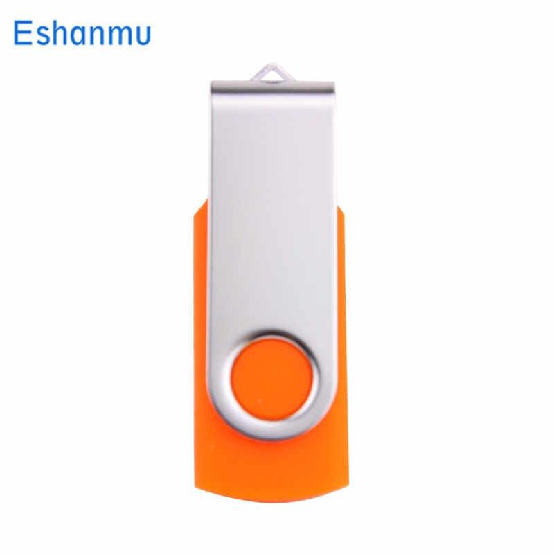 Movimentação 64 gb da pena do disco de u da vara do usb da memória da movimentação flash do giro de eshanmu movimentação 64 gb usb 2.0 4 gb 8 gb 16 gb 32 gb movimentação do flash de pendrive para o presente