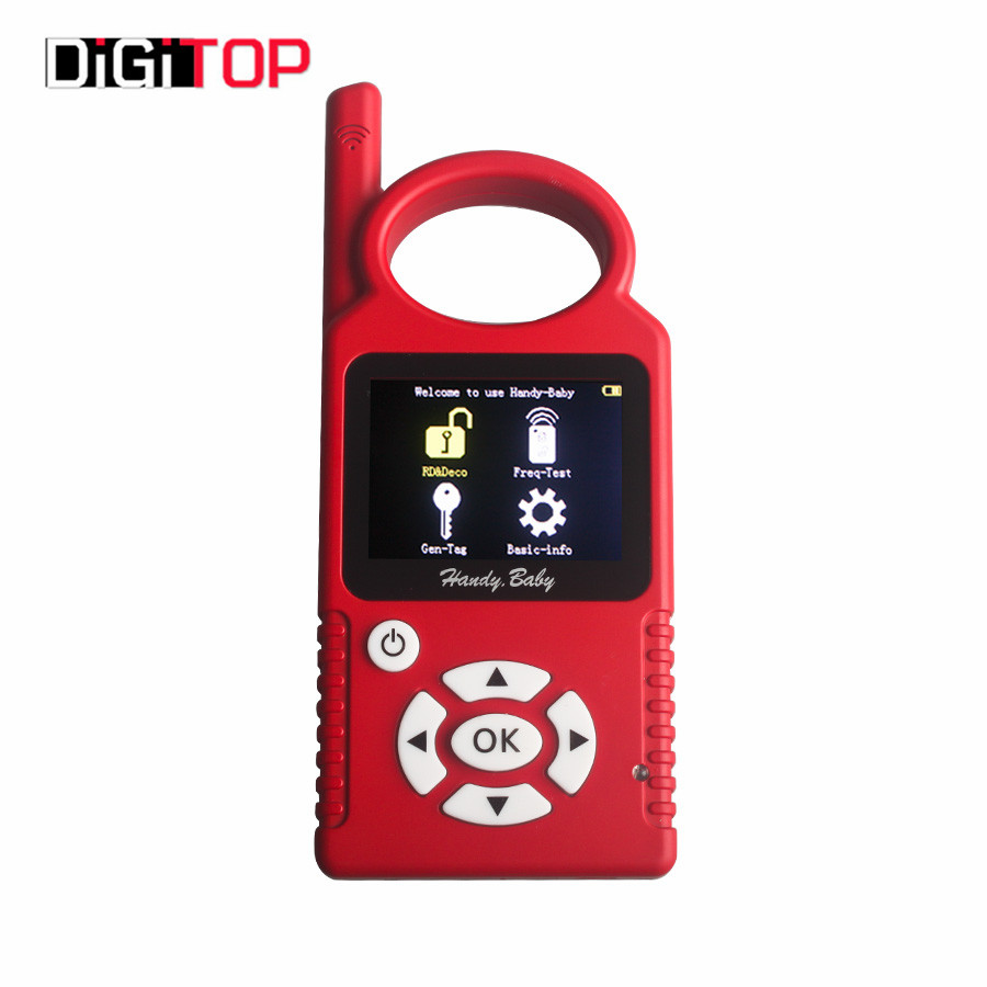 Promotion V6.1.0 Handy Baby Car Key Copy Key Programmer for 4D/46/48 Chips Key Copy Programmer Replacement for 468 KEY PRO III