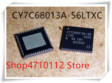 NEW 10PCS/LOT CY7C68013A-56LFXC CY7C68013A-56LTXC QFN-56 CY7C68013A-56 CY7C68013A QFN IC