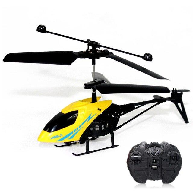 Mini Remote Control RC Вертолет RC дроны 2.5 Канала встроенный Гироскоп Вертолет со СВЕТОДИОДНОЙ Подсветкой