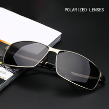 Aluminum Magnesium Polarized Lens Sunglasses Men Driver Mirror Sun glasses Male Female Eyewear For Men